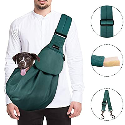 Slowton Pet Carrier, Hand Free Sling Adjustable...