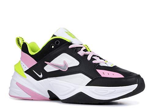 Nike M2K Tekno CI5772-001 - Zapatillas deportivas para mujer, color negro/plateado metálico/rosa