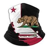 XXUU Bandera de los EE. UU. Y el estado de California, polaina para el cuello, máscara para la cabez...