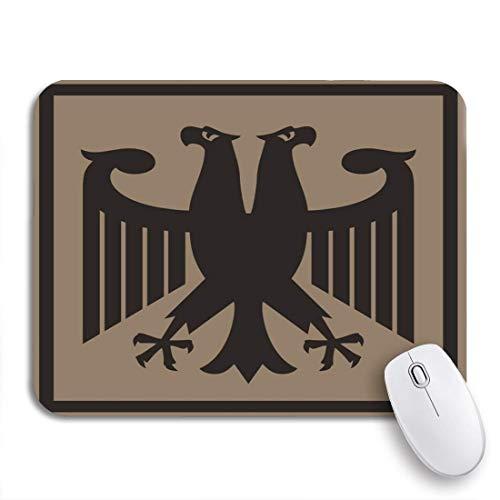 GLONLY Águila Imperial fantástica Alemana Patrimonio Pájaro Rusia Armas Rusas,Alfombrilla Raton Alfombrilla Gaming Alfombrilla para computadora con Base de Goma Antideslizante para Laptop