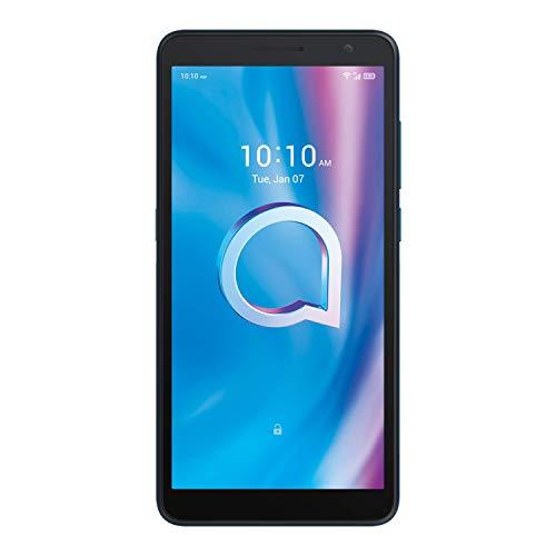 "Alcatel 1B - Smartphone 4G Dual Sim, Display 5.5"" HD+, 32GB, 2GB RAM, Camera, Android 10, Batt. 3000mAh, Agata Green [Italia]"