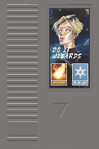 Do it Wizards (Teenager Edition): Cuaderno y lista de tareas con gráficos y detalles temáticos de videojuegos (Spanish notebook & to-do list journal) (Spanish edition)