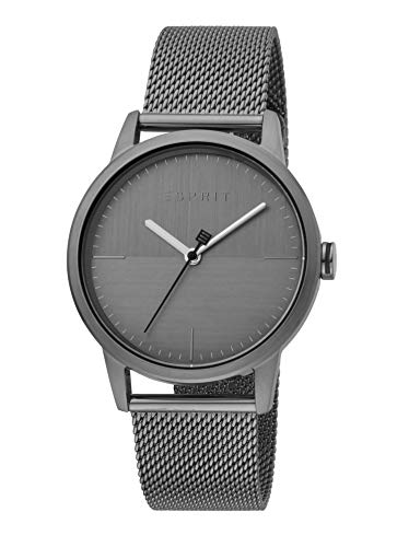 Esprit ES1G109M0085 Classy - Reloj de Pulsera para Hombre (Acero Inoxidable, 3 Bares), Color Gris