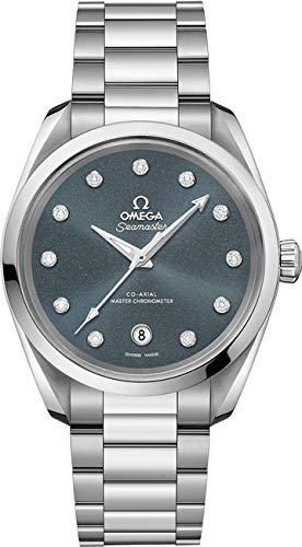 Omega Seamaster Aqua Terra Reloj automático de diamante para mujer 220.10.38.20.53.001