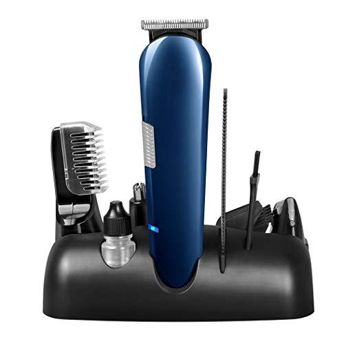 Wenmw Männer Bart-Trimmer Set Nase Haartrimmer Setzen Männerkörper Pflege Akku USB-Aufladung Einer Maschine Rasierer