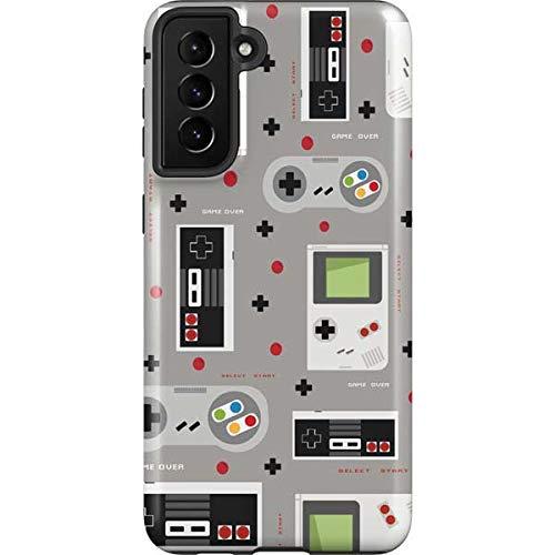 Skinit Pro Phone Case Compatible with Galaxy S21 Plus 5G - Skinit Originally Designed Retro Nintendo Pattern Design