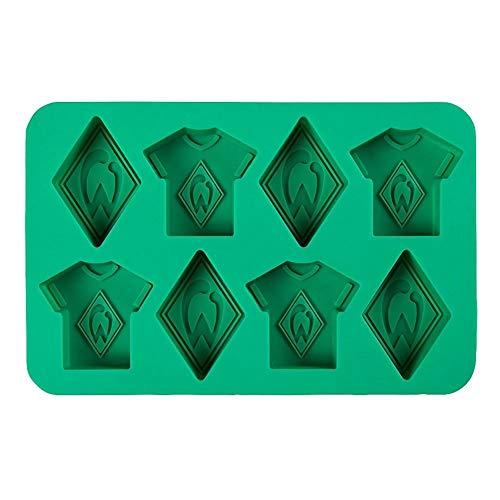 Werder Bremen Eiswürfelform Trikot und Raute (one Size, grün)