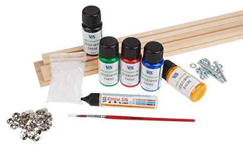 Komplettset für die Seidenmalerei, Studio Silk mit Rahmen, von VBS