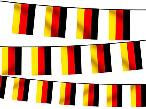 WM Wimpelkette Fahnenkette 4,5 m Flaggenkette 32 Teilnehmerländer Fanartikel, wählen:W-DE Wimpel Deutschland 4.50 m