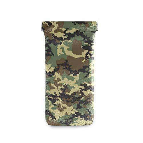 BIGJOKE Forests - Funda de piel de microfibra para gafas de sol, diseño de camuflaje militar, para mujeres, niños, niñas y hombres