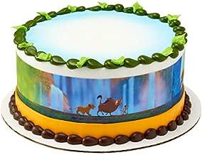 Lion King Edible Cake Border - Set of 3 Strips