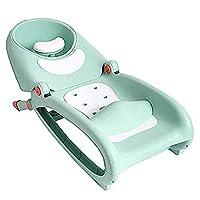 シャンプーチェア 子供用のシャンプーチェア リクライナー 折りたたみ式 リビングルーム家具 シャンプーアーティファクト 赤ちゃん 家 0-12歳 子供 かわいい 実用的 便利 耐久性 (グリーン)