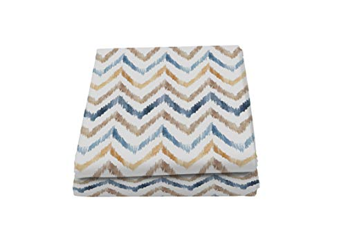 Italian Bed Linen Fantasy Hippy - Toalla cubretodo Estampada de 2 plazas, Microfibra
