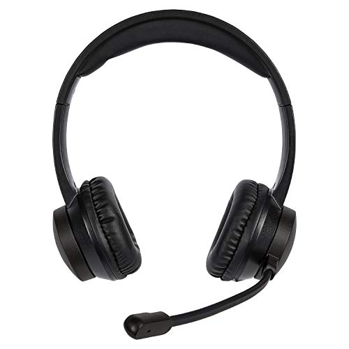 MEDION E83265 USB Headset (Stereo Kopfhörer, flexibel einstellbares Mikrofon, USB-Anschluss für Plug & Play, Extralanges Kabel)
