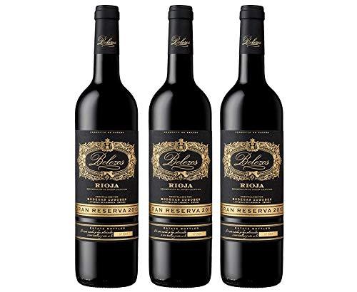 BELEZOS Belezos gran reserva, pack de 3 botellas - 2250 ml