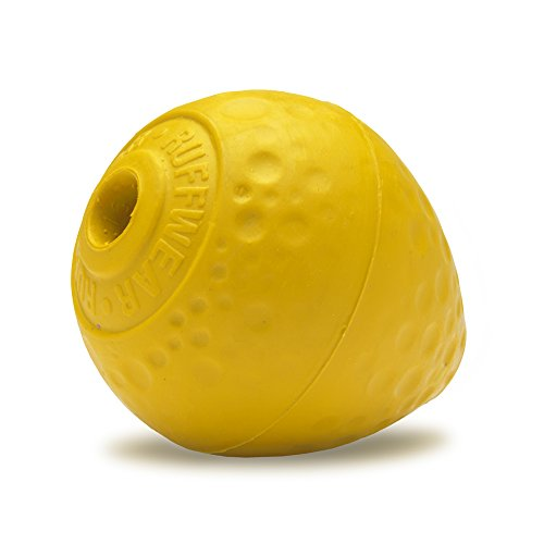Ruffwear Kaufestes Hundespielzeug aus Gummi, Futter und Leckerli Aufbewahrung, One Size, Gelb (Dandelion Yellow), Turnup