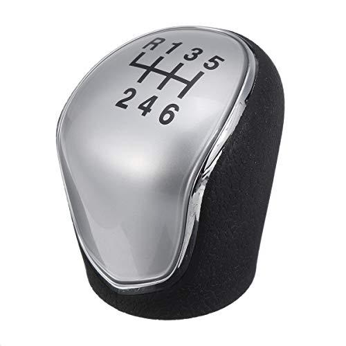 ILS 6 Gang Automatik Schaltknauf Silber für Hyundai IX35 2010-2016