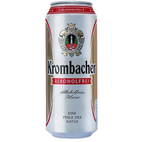 Krombacher Pils, Alkoholfrei, 24er Pack, 24 x 500 ml