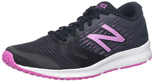 New Balance Damen Wflshv3 Laufschuhe, Schwarz (Black/Pink Black/Pink), 41 EU