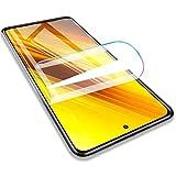 Iiseon Filtro de Premium hidrogel para Xiaomi Redmi Note 8, Note 7 y Note 7 Pro, Protector de Pantalla, 2 Unidades Suave Película Protectora [Transparente] [Alta sensibilidad] (Película no templada)