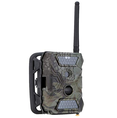 YTLJJ S680M 2G Wildkamera Fotofalle 12MP 1080P mit Handy übertragung, Jagdkamera 2G GSM GPRS 40 Pcs Low-Glow 940nm IR-LEDs, Infrarot-Nachtsicht 65ft/20m, IP54 wasserdichte Enthält 32G SD-Karte
