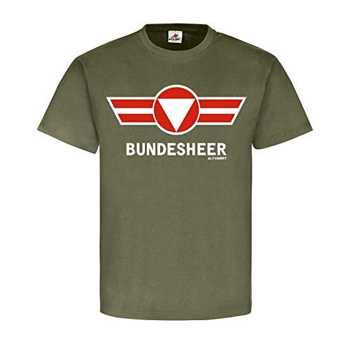 Copytec #21760 German Army Badge Austria Bra Coat of Arms Battalion - Green - Small