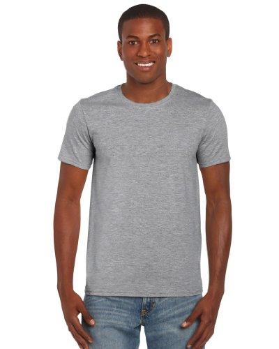 Gildan Softstyle, adult ringspun t-shirt RS Sports Grey 2XL