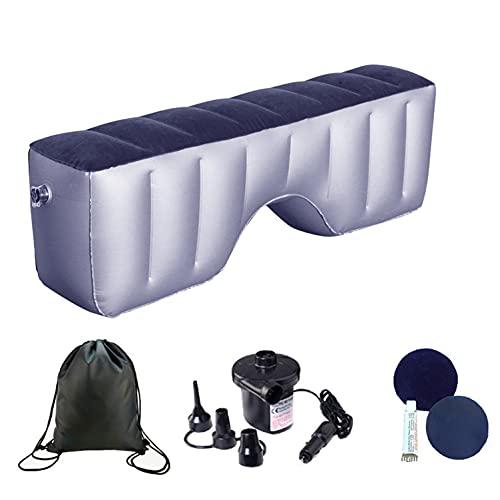QAZX Auto Luftmatratze Aufblasbare Rücksitz Matratze Auto Reisebett Rücksitz für Autoreisen Camping