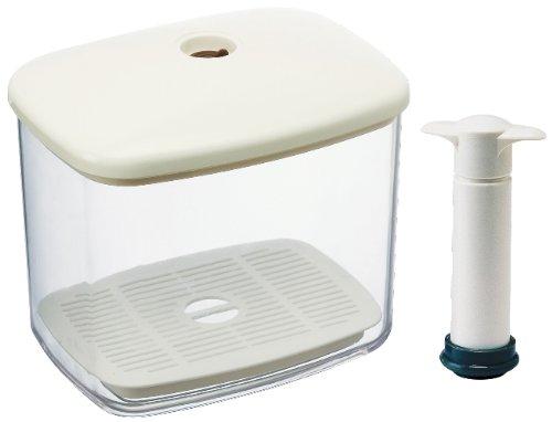 スケーター『真空パンケースパン保存容器』