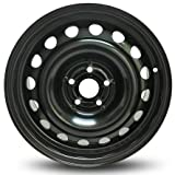 Road Ready Car Wheel For 2013-2017 Chevrolet Trax 16 Inch 5 Lug Black Steel Rim Fits R16 Tire - Exact OEM Replacement - Full-Size Spare