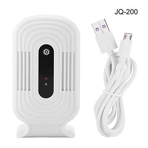 Fdit Air Detector USB Wifi Luchtkwaliteit Tester Intelligente Monitor Detector PM2.5 HCHO & TVOC & CO2 Analyzer (JQ-200)