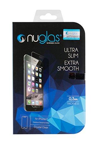 Nuglas iPhone 7/ iPhone 8 4,7 Pollici Screen Saver, Pellicola salvaschermo in vetro temperato Pellicola temperata Protezione in vetro protettivo temperato 9h in vetro trasparente ultra fine 0,3 mm