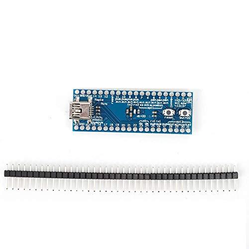 STM32F103CBT6 Mini-STM-Steuerplatinenmodul, Controller-Platinenmodul, 32-ARM-Cortex-M3-Prozessor, STM-32-Platine mit Stiftleiste, 3,3-V-Betriebsspannung, 72 MHz