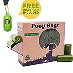 Dog Poop Bags Biodegradable 26 Rolls (390 Counts) Dispenser, Scented Leak-Proof Dog Waste Bags 8