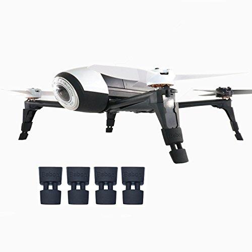 Kismaple Gamba estesa Carrello di atterraggio Landing Gear Piedi Estensione per Parrot Bebop 2, Bebop 2 FPV, Bebop 2 Power FPV, Bebop 2 Adventurer Drone Accessori