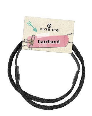 Essence 01 hairband (noir).
