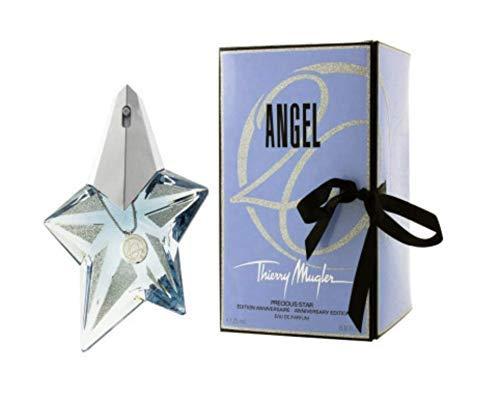 100% Authentic MUGLER ANGEL Precious Star Anniversary ed. EDP 25ml Made in France + 2 Niche perfume samples free