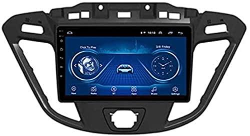 Android Car Stereo Radio Double DIN Sat Nav para Ford Custom/Transit 2013-2018 Navegación GPS Sistema de navegacion GPS táctil de 9 Pulgadas Reproductor Multimedia Receptor de Video con 4G RDS DSP