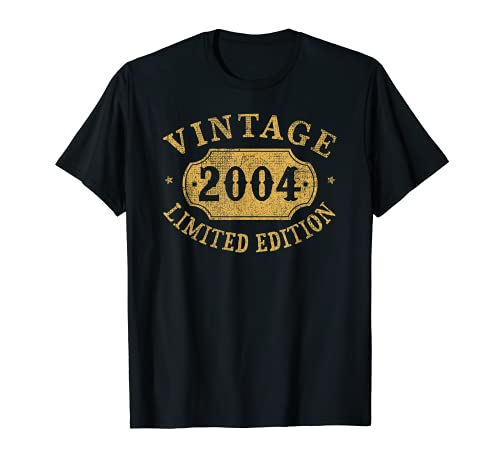 2004 17 years old 17th Birthday, Anniversary Gift Limited T-Shirt