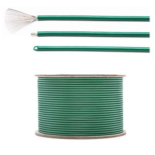 LOHAG - Universal Begrenzungskabel Begrenzungsdraht Kabel für Mähroboter Rasenmäher Rasenroboter Zubehör – hochwertig verzinntes und kupferplattiertes Aluminum - Ø2,7mm - 50m