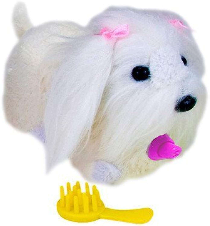 Cepia Zhu Zhu Puppies Dog Sabrina  Maltese (White) by Cepia