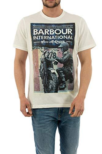 Barbour SMQ Fixer Tee, T-Shirt - M