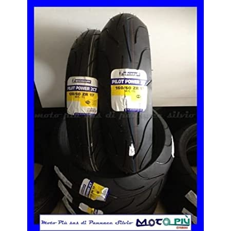 Paar Reifen Reifen Michelin Pilot Power 2 Ct 120 60 17 160 60 17 2017 Auto