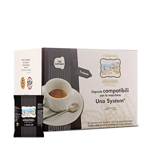UNO System 200 capsule Caffè DAKAR Gattopardo