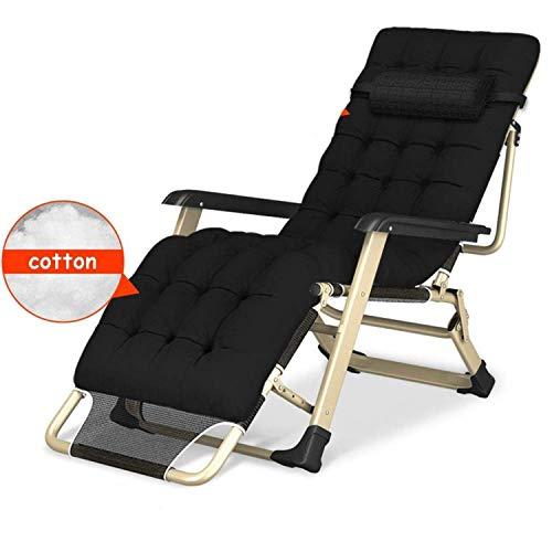 Ligstoelen Loungestoel verstelbaar en opvouwbaar Ligbed Buitenbed Draagbare recliner Vrije tijd Vouwen Liggend