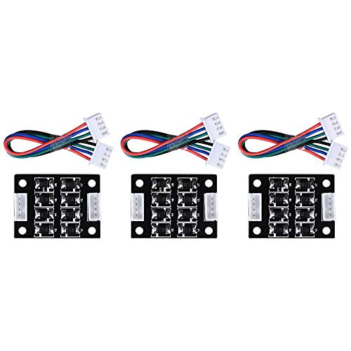 3pcs TL-Smoother Addon Module imprimante 3D Accessories Filter for Pattern Elimination Motor Clipping Filter 3D Pinter Motor Drivers DVR8825 Stepper Drivers and A4988/2 Drivers
