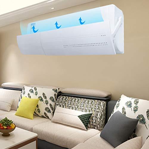 Airco-deflector, raamspalken, hoogwaardig abs-materiaal, rek en pas de lengte naar believen aan, geschikt voor slaapkamer, woonkamer, kantoor, enz.(Hollow waterproof)