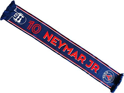 Paris Saint-Germain sjaal, motief: Neymar Jr, officiële collectie, 140 cm