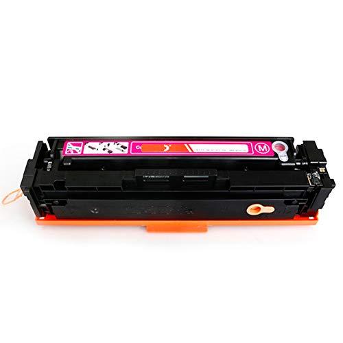 CF400A 401A 402A 403A compatibele vervangende tonercartridge voor HP LasreJet pro M252 277n 277dw serie printer, Het effect is vergelijkbaar met het origineel size Rood