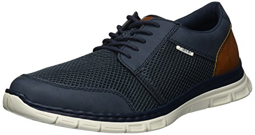 Rieker Herren B4832 Low-top, Blau (denim/atlantis/sherry/14), 41 EU